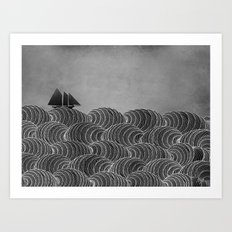 The Ancient Sea Art Print