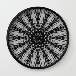 Rotational Array Wall Clock