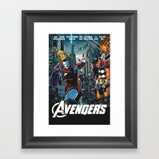 The 80s Framed Art Print