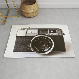 Camera photograph, old camera photography Rug