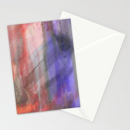 Abstract Texture 2 Fire & Ice Stationery Cards