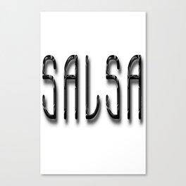 Salsa A La Bambino Canvas Print