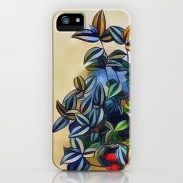 flower leavs iPhone Case