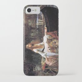 The lady of shalott painting  iPhone Case
