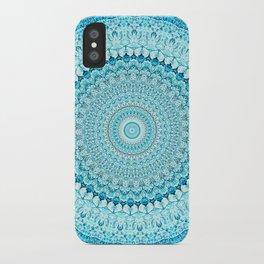Coastal Spray Mandala iPhone Case
