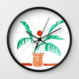 Parque del Oeste 01 Wall Clock