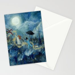 An Awfully Big Adventure - Peter Pan - Nursery Decor Stationery Cards