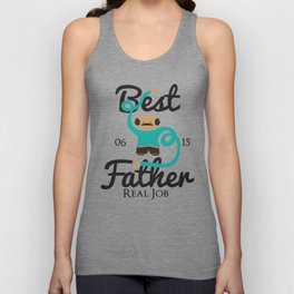 Best Father Unisex Tank Top