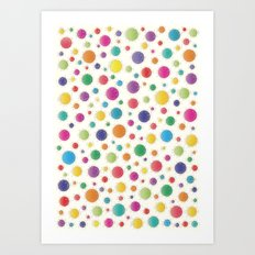 Here Comes The Early Summer Holidays Art Print