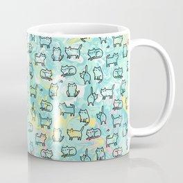 Marble Kitty Cats Coffee Mug