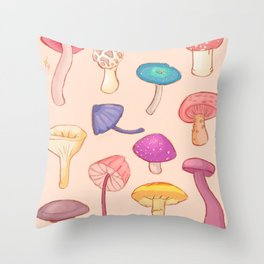 MUSH Throw Pillow