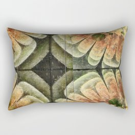 Annexation Constitution Flowers  ID:16165-142226-92271 Rectangular Pillow