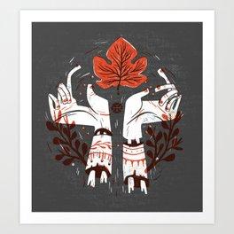 Symbol Hands Art Print