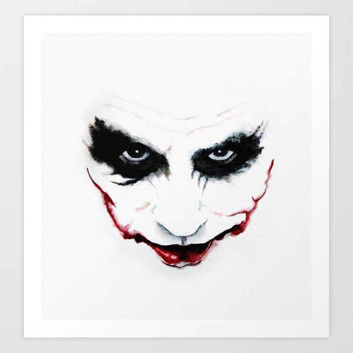 Joker Art Print