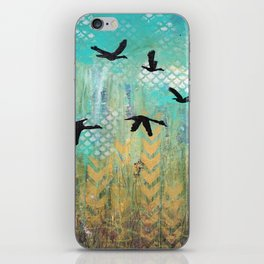 Fly for Fall iPhone Skin