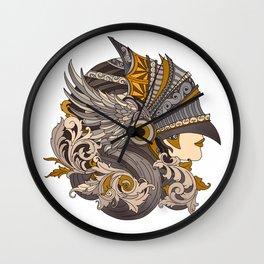 Always a knight Wall Clock