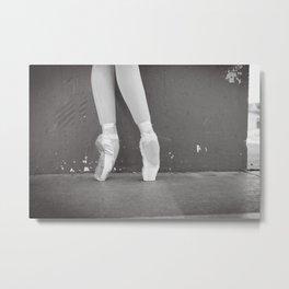 Pointe - by Renee Scott Metal Print