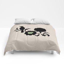 Arkansas - State Papercut Print Comforters