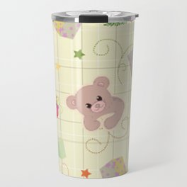 Christmas Elements Children's Christmas Design Travel Mug