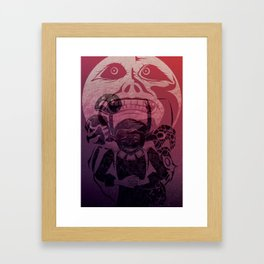 You've met with a terrible fate, haven't you? Framed Art Print