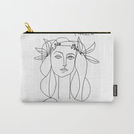 Head 1946 Abstract Fantasy Print Carry-All Pouch
