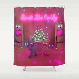 Sweet Like Candy Shower Curtain