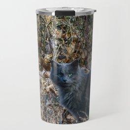 Cat in the Woods Travel Mug