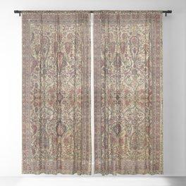 Lavar Kirman Southeast Persian Rug Print Sheer Curtain