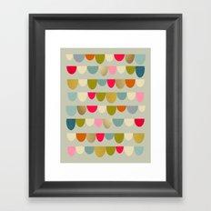 Delightful Rue Framed Art Print