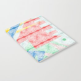Abstract Lace Notebook