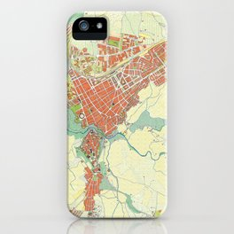 Ronda city map classic iPhone Case