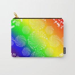 Rainbow Love Symbol Mandala Carry-All Pouch