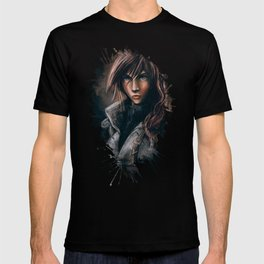 Lightning from Final Fantasy 13 Painting T-shirt