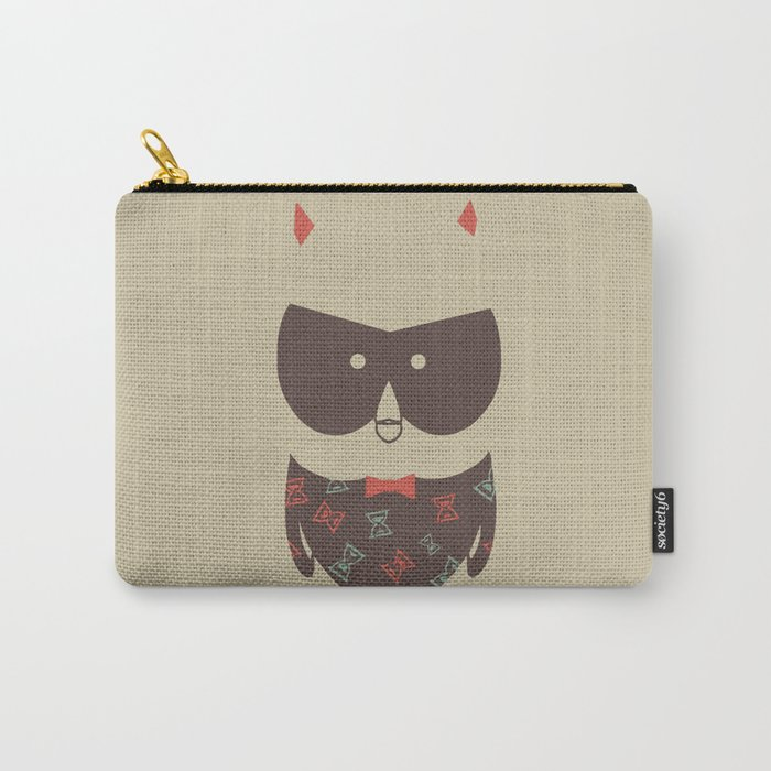 Owlglass (hourglass) Carry-All Pouch