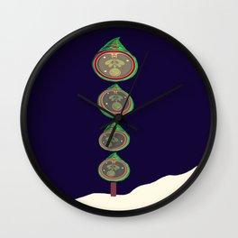 Oh Christmas Tears Wall Clock