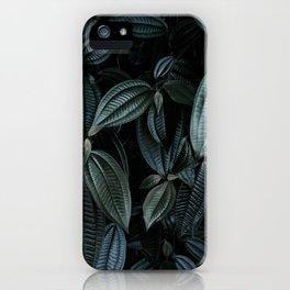 green leaves #society6 #decor #buyart iPhone Case