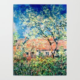 Springtime at Giverny Poster