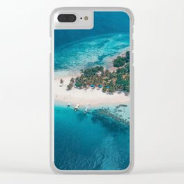 Coron Palawan Philippines Clear iPhone Case