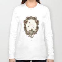 le petit prince Long Sleeve T-shirts featuring le petit, amour, délicate by Cecilia Sánchez