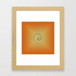 Energy upload Framed Art Print