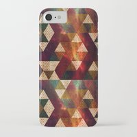 polygon iPhone & iPod Cases featuring Polygon by Tony Vazquez