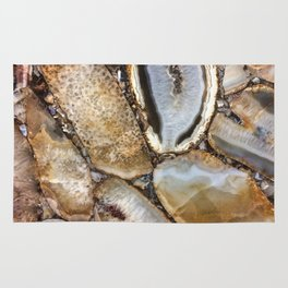 Crystal Art | Photography | Nature | Earth | Gold Art | Gems | Geology Rug