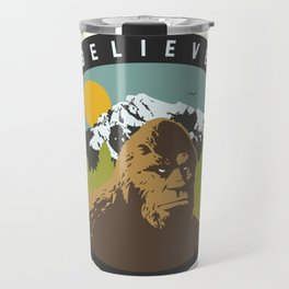 Bigfoot Patch Travel Mug