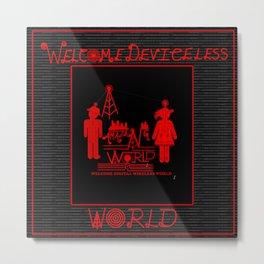 Amazing World Metal Print