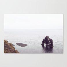 Hvítserkur, Iceland Canvas Print