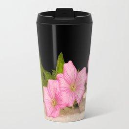 Pink Still life Travel Mug