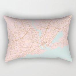 Galway map Rectangular Pillow
