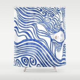 Water Nymph XXVII Shower Curtain