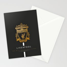 Liverpool FC Stationery Cards