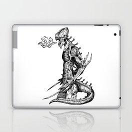 Fierce (Inktober 2017) Laptop & iPad Skin
